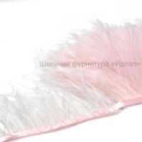 Перьевая лента из перьев страуса (светло-розовый)
