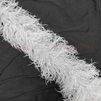 Боа из перьев страуса 5 нитей (SILVER)