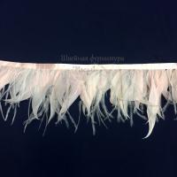 Перьевая лента страус-петух (светло-розовый)