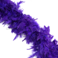 Боа-шанделла (фиолетовый)