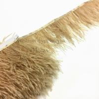Перьевая лента из перьев страуса (светло-телесный)