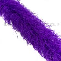 Боа из перьев страуса 6 нитей ФИОЛЕТОВЫЙ