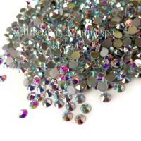 Cтразы клеевые SS16 LUX Crystal AB